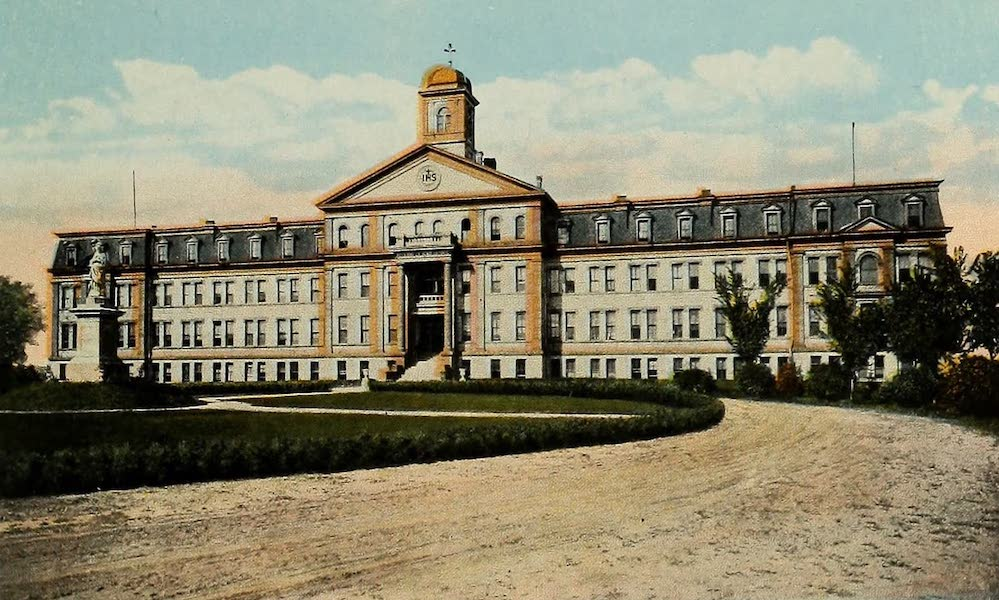Souvenir Album of Jesuit Colleges and Universities - College of the Sacred Heart, Denver, Colo. (1918)