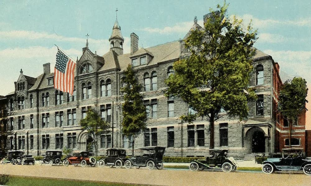 Souvenir Album of Jesuit Colleges and Universities - University of Detroit, Detroit, Mich. (1918)