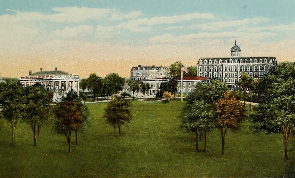 Souvenir Album of Jesuit Colleges and Universities - Fordham University, Fordham, N.Y. (1918)