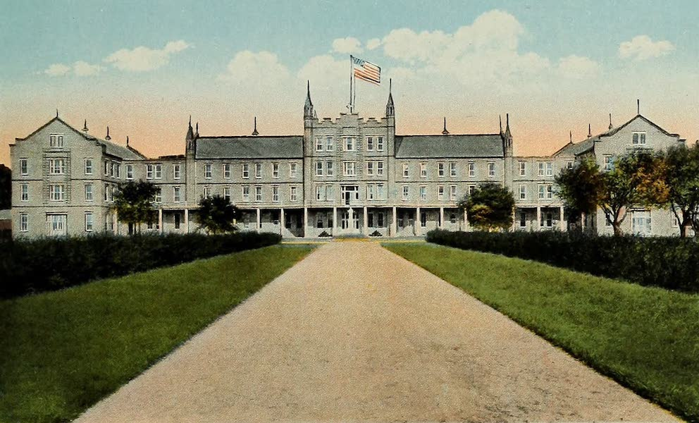Souvenir Album of Jesuit Colleges and Universities - St. Charles College, Grand Coteau, La. (1918)