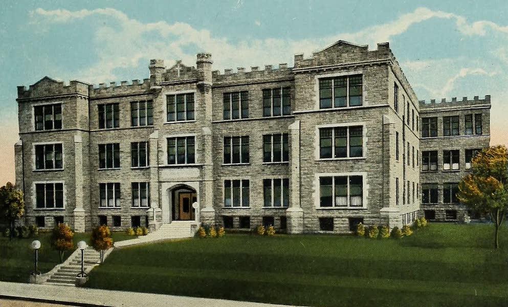 Souvenir Album of Jesuit Colleges and Universities - Rockhurst College, Kansas City, Mo. (1918)