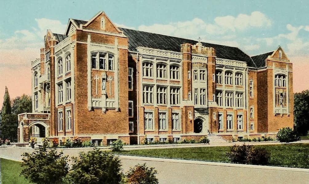 Souvenir Album of Jesuit Colleges and Universities - Loyola College, Los Angeles, Cal. (1918)
