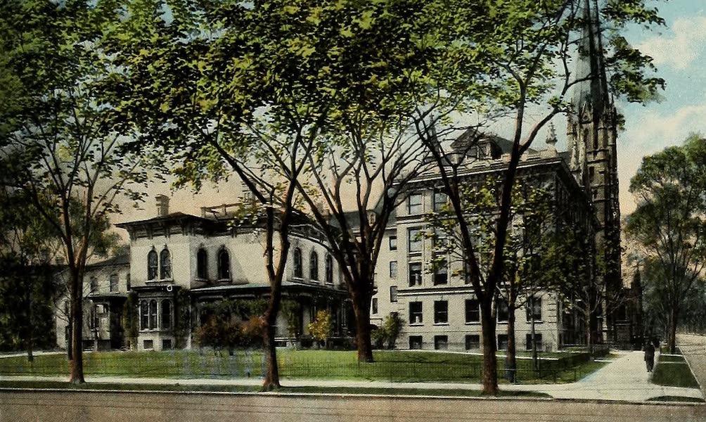 Souvenir Album of Jesuit Colleges and Universities - Marquette University, Milwaukee, Wis. (1918)
