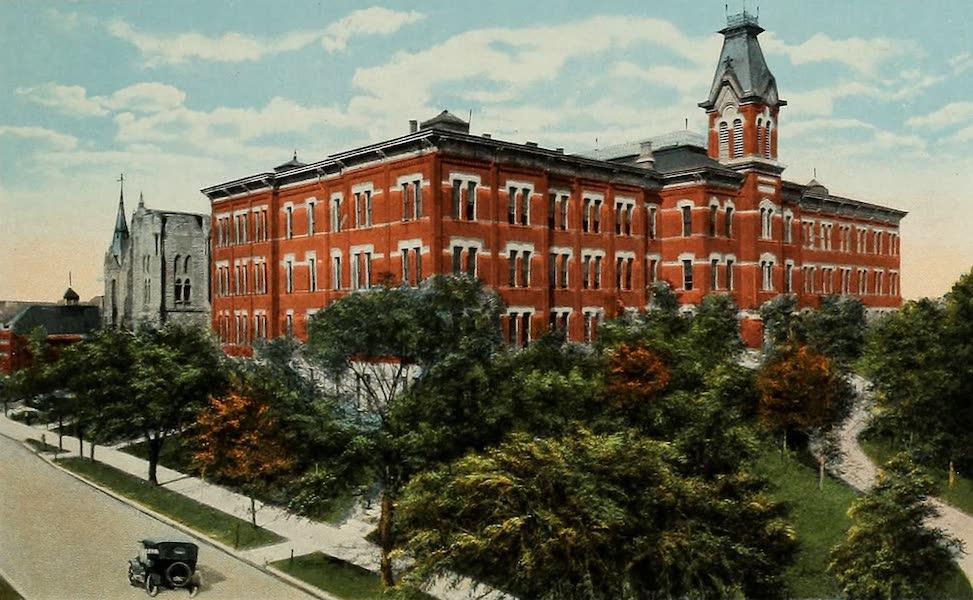 Souvenir Album of Jesuit Colleges and Universities - Creighton University, Omaha, Neb. (1918)
