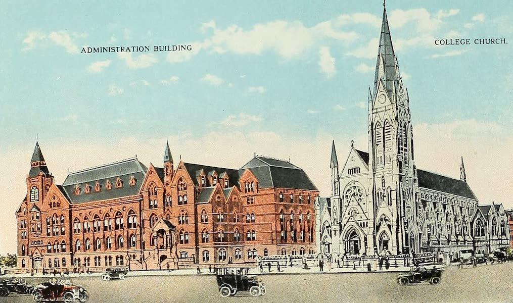 Souvenir Album of Jesuit Colleges and Universities - St. Louis University, St. Louis, Mo. (1918)