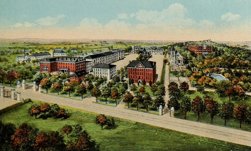 Souvenir Album of Jesuit Colleges and Universities - St. Mary's College, St. Marys, Kansas (1918)