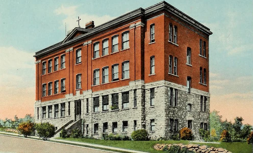 Souvenir Album of Jesuit Colleges and Universities - Seattle College, Seattle, Wash. (1918)