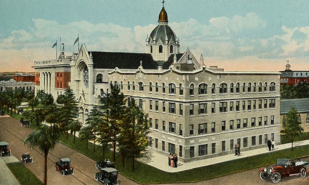 Souvenir Album of Jesuit Colleges and Universities - Sacred Heart College, Tampa, Fla. (1918)