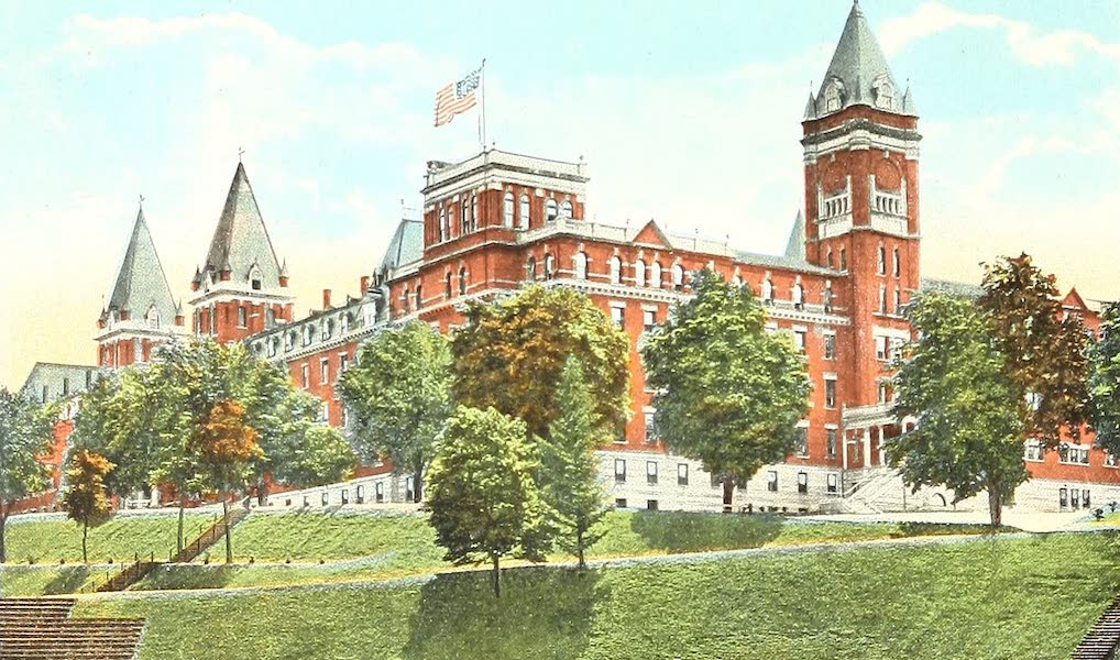 Souvenir Album of Jesuit Colleges and Universities - College of the Holy Cross, Worcester, Mass. (1918)