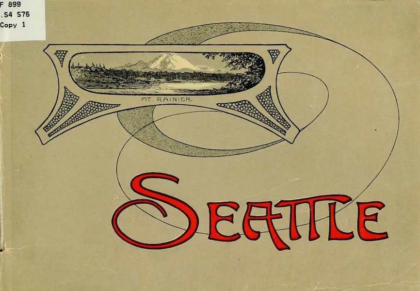 Souvenir Album of Seattle, Washington - Front Cover (1900)