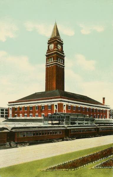 Souvenir Album of Seattle, Washington - Union Depot, Seattle, Washington (1900)