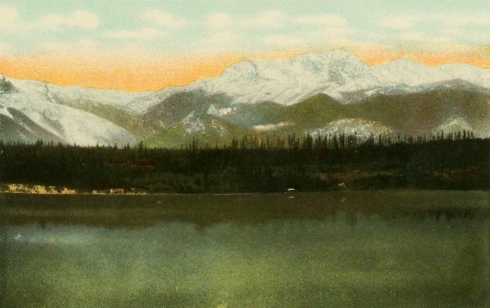 Souvenir Album of Seattle, Washington - Mount Constance, Olympic Range (1900)