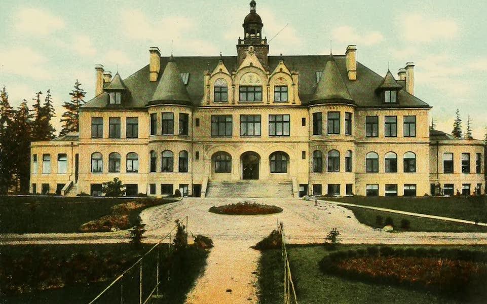 Souvenir Album of Seattle, Washington - Administration Building, University of Washington, Seattle, Wash. (1900)