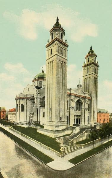 Souvenir Album of Seattle, Washington - St. James Cathedral, Seattle (1900)