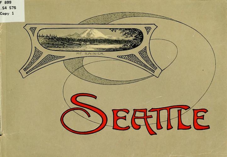 Library of Congress - Souvenir Album of Seattle, Washington
