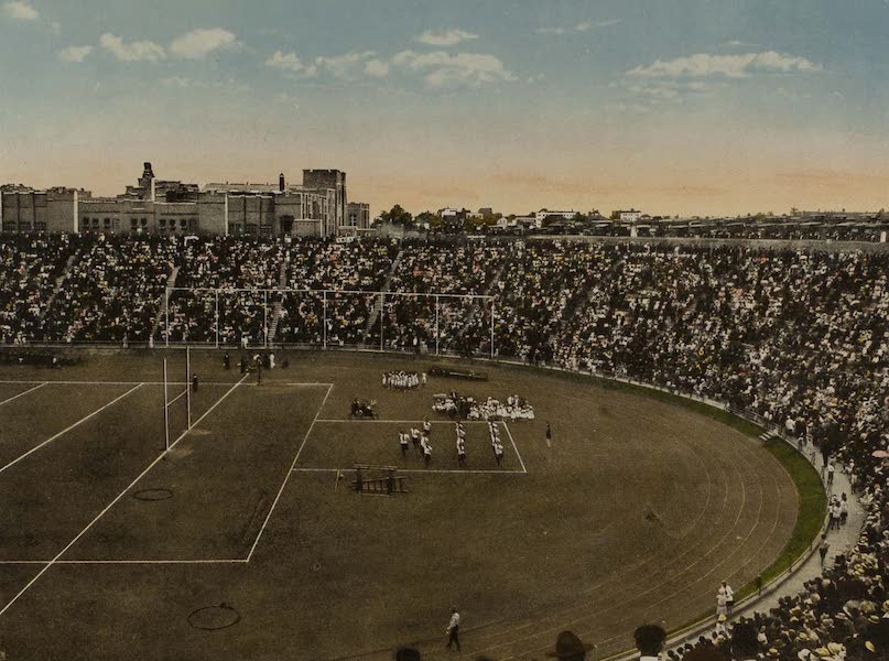 Souvenir from San Diego and Vicinity California - The Stadium (1915)