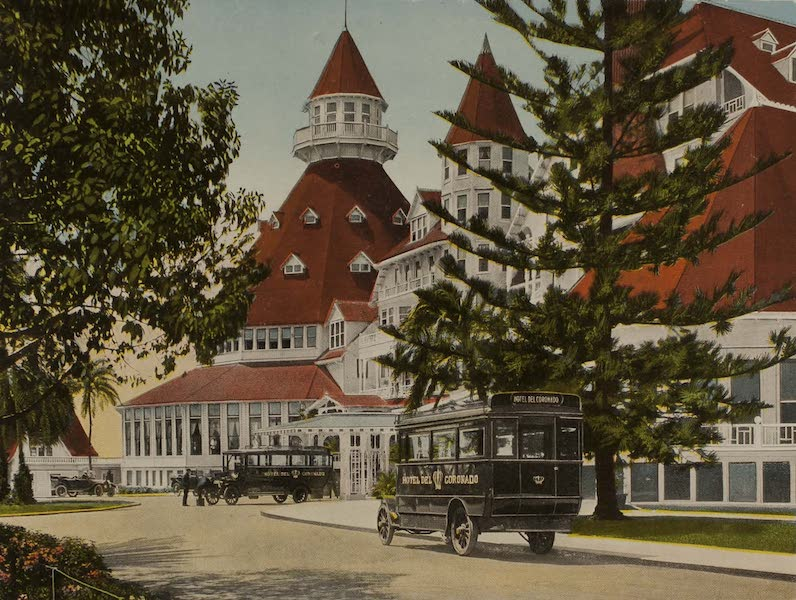 Souvenir from San Diego and Vicinity California - Hotel del Coronado, Coronado (1915)