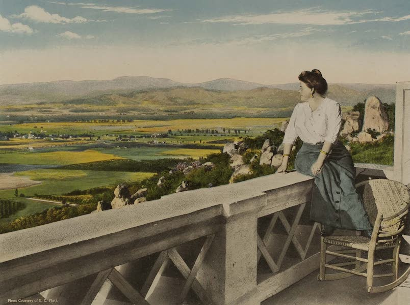 Souvenir from San Diego and Vicinity California - Mme. Schumann Heink at Home, Grossmont, near San Diego (1915)