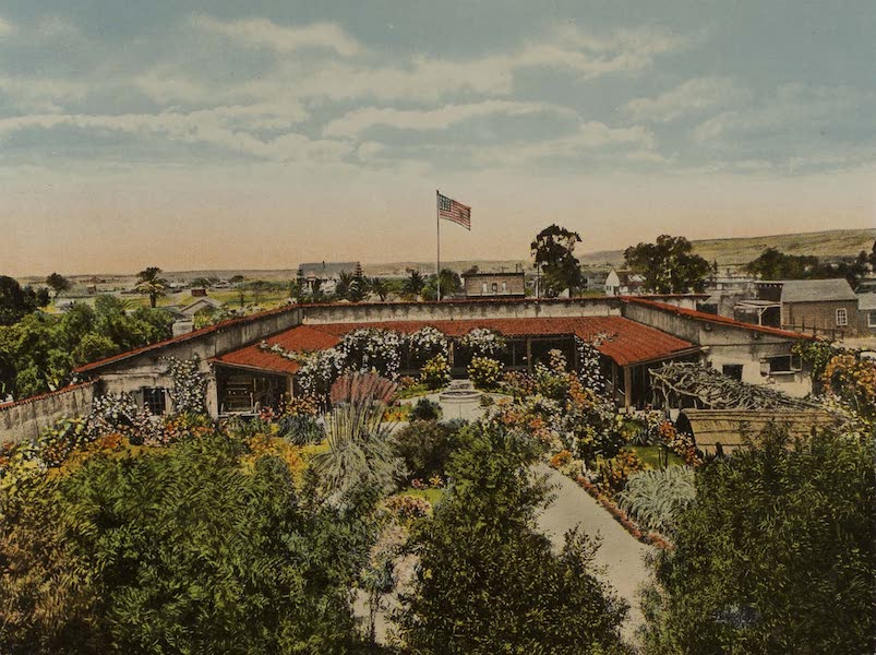 Souvenir from San Diego and Vicinity California - Ramona's Marriage Place, Old Town (1915)