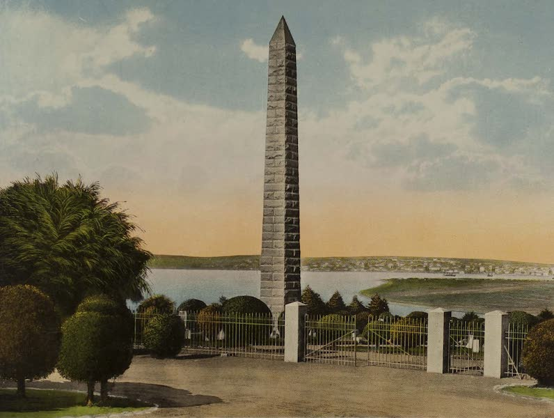 Souvenir from San Diego and Vicinity California - Bennington Monument (1915)