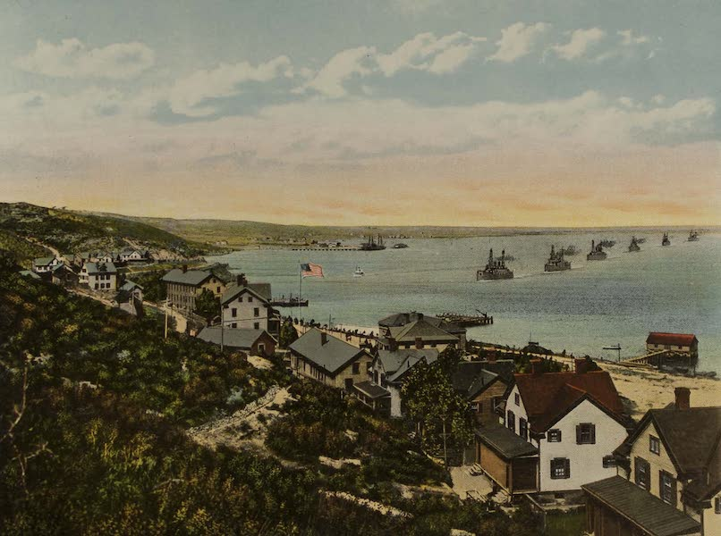 Souvenir from San Diego and Vicinity California - Fort Rosecrans (1915)