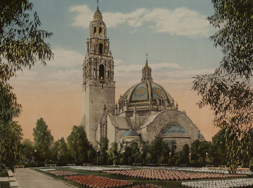 Souvenir from San Diego and Vicinity California - The California Building (1915)