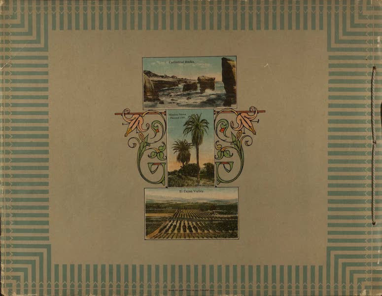 Souvenir from San Diego and Vicinity California - Back Cover (1915)