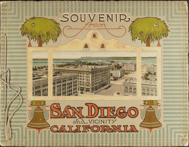 Chromolithography - Souvenir from San Diego and Vicinity California