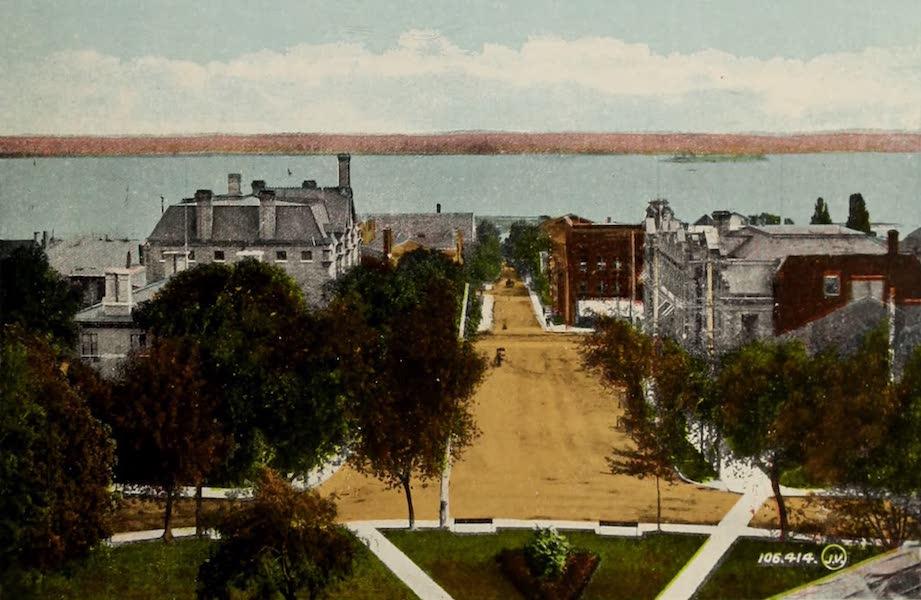 Souvenir of Brockville, Ont. - Court House Avenue [I] (1910)