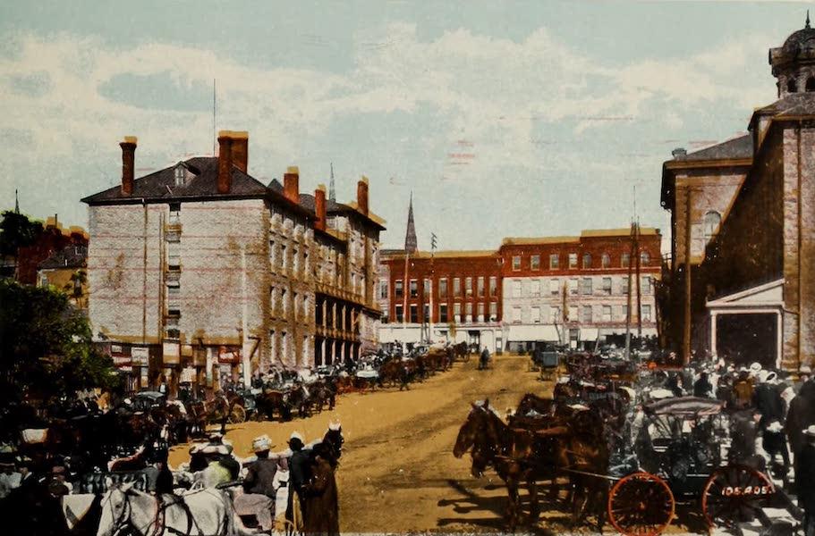 Souvenir of Brockville, Ont. - Market (1910)