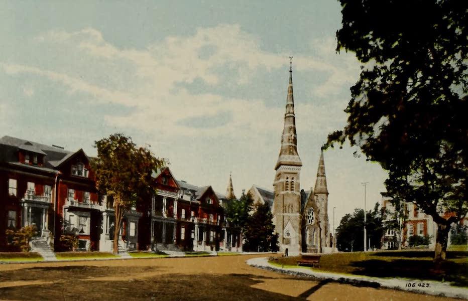 Souvenir of Brockville, Ont. - Court Terrace (1910)