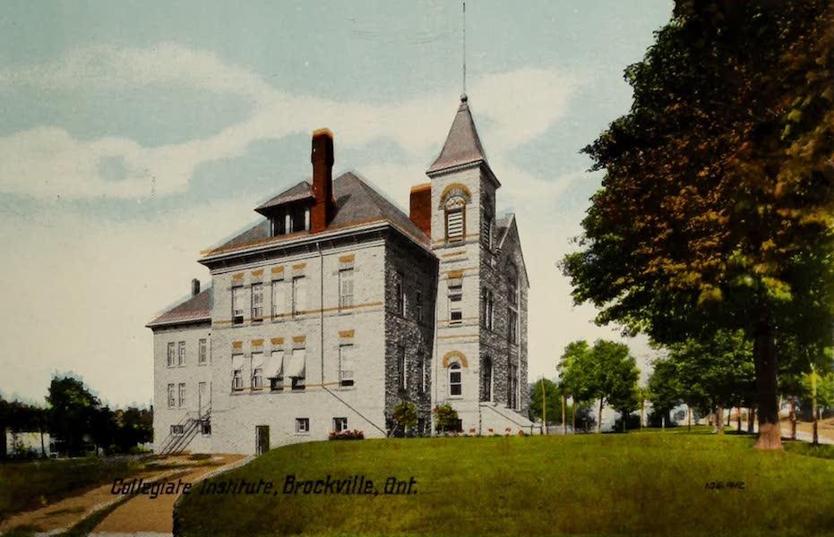 Souvenir of Brockville, Ont. - Collegiate Institute, Brockville, Ont. (1910)