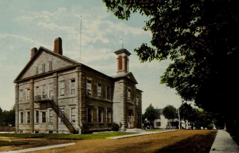 Souvenir of Brockville, Ont. - Victoria School (1910)