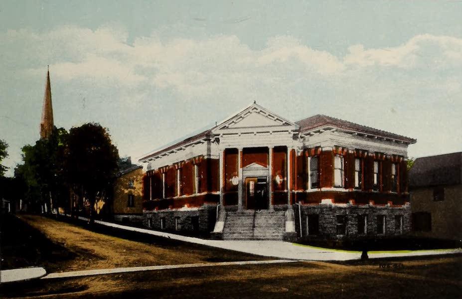 Souvenir of Brockville, Ont. - Carnegie Library (1910)
