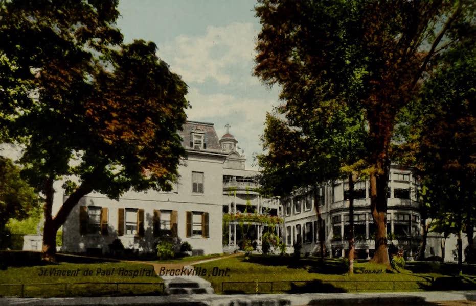 Souvenir of Brockville, Ont. - St. Vincent de Paul Hospital, Brockville, Ont. (1910)