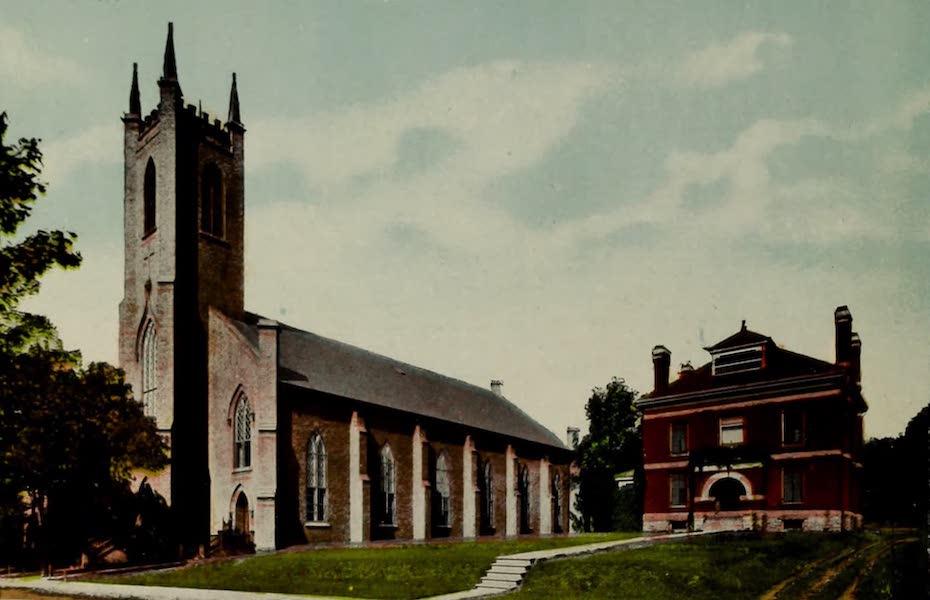 Souvenir of Brockville, Ont. - St. Francis Xavier Church and Notre Dame Convent (1910)