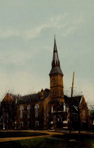 Souvenir of Brockville, Ont. - Wall Street Methodist Church (1910)