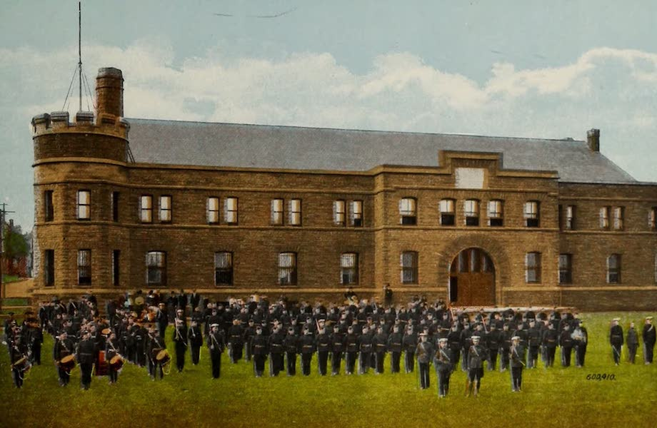 Souvenir of Brockville, Ont. - The Armouries (1910)