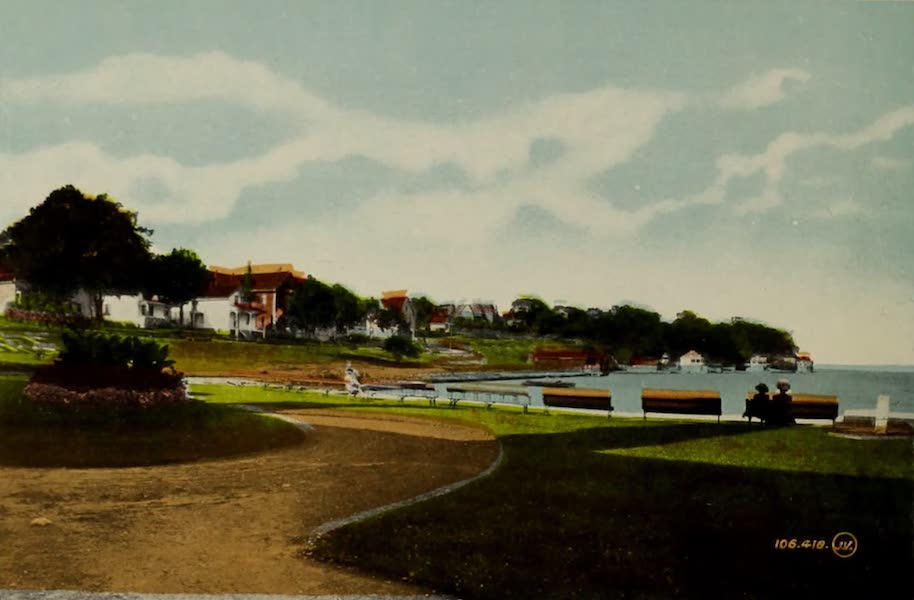 Souvenir of Brockville, Ont. - Water Works Esplanade (1910)