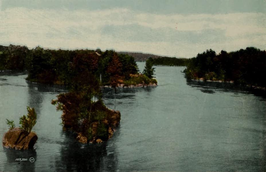 Souvenir of Brockville, Ont. - The Lost Channel, Thousand Islands (1910)