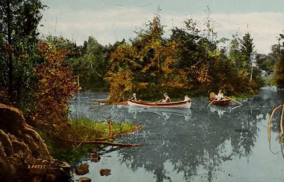 Souvenir of Brockville, Ont. - The Shadow, Thousand Islands (1910)