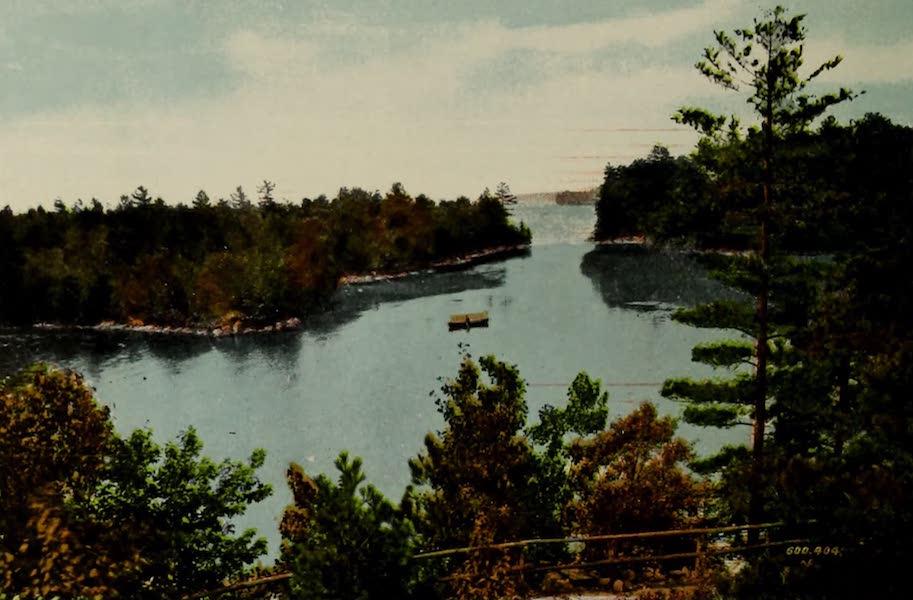 Souvenir of Brockville, Ont. - Lily Bay, Thousand Islands (1910)