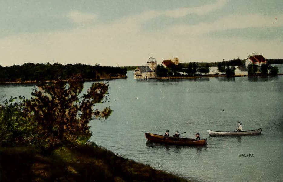 Souvenir of Brockville, Ont. - Oriental Isle, Thousand Islands (1910)