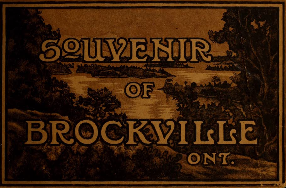 Chromolithography - Souvenir of Brockville, Ont.