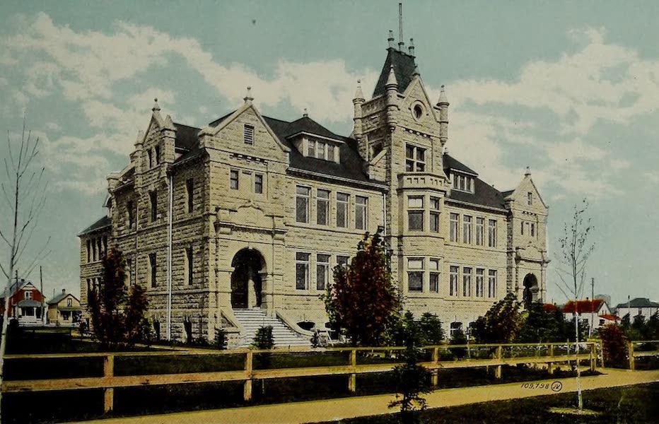 Souvenir of Calgary, Alta. - High School (1912)