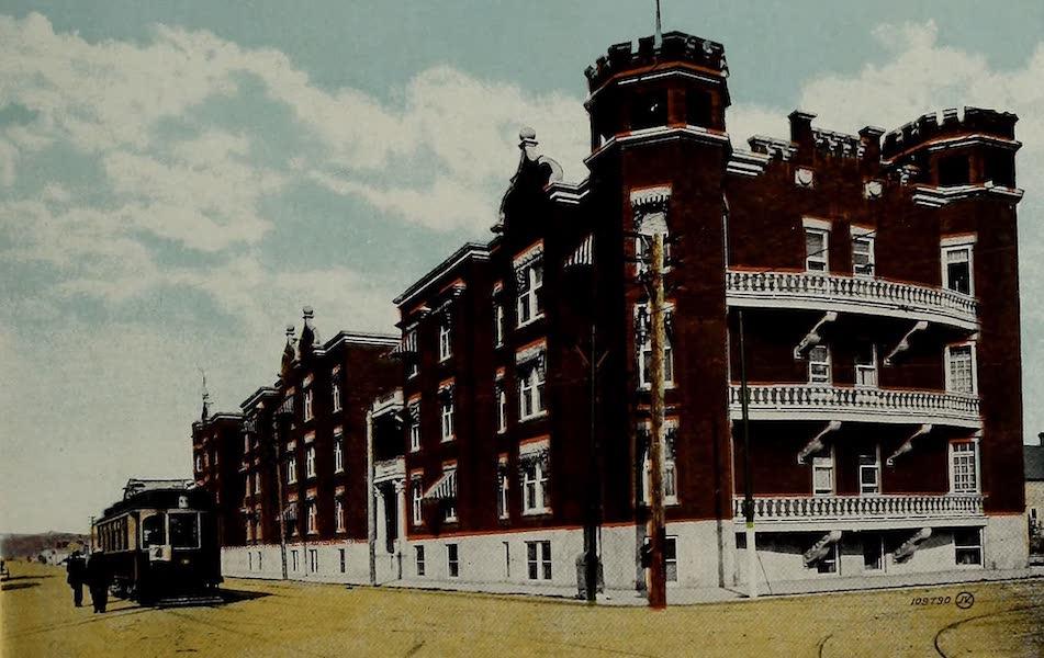 Souvenir of Calgary, Alta. - Devenish Apartments (1912)