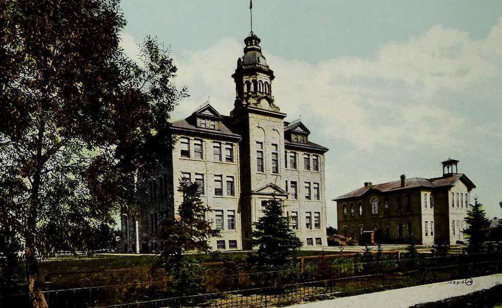 Souvenir of Calgary, Alta. - Central School (1912)