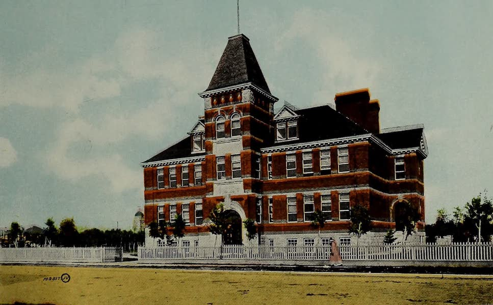 Souvenir of Calgary, Alta. - St. Mary's School (1912)