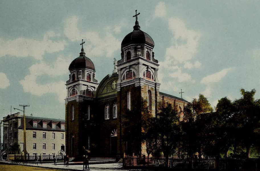 Souvenir of Calgary, Alta. - St. Mary's R.C. Church (1912)