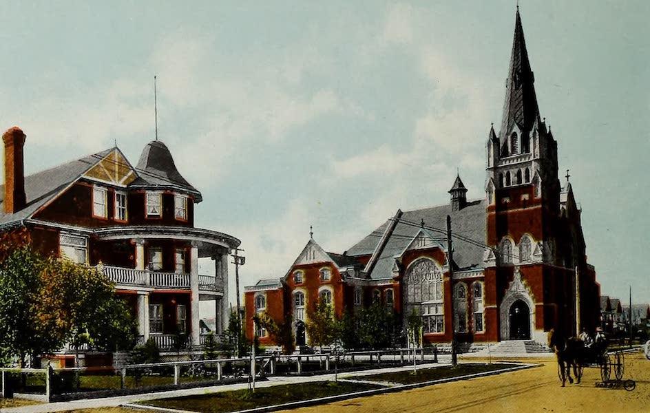 Souvenir of Calgary, Alta. - First Baptist Church, 13th Avenue (1912)